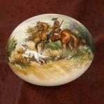 Strusie jaja ręcznie malowane